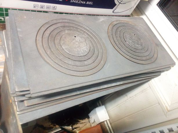 Płyta kuchenna 2 otworowa do kuchni kaflowej