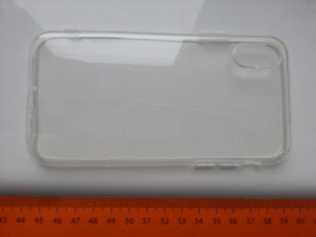 Etui silikonowe dla IPhone X, kolor przezroczysty, NOWE,