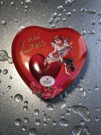 Бокс для хранения Коробка Шкатулка Пенал «Сердце» Love