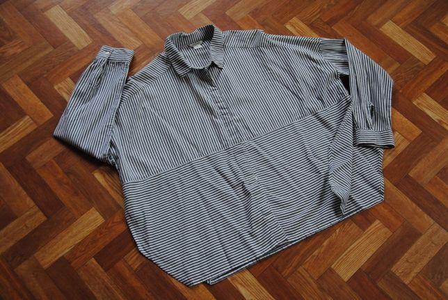 MONKI szeroka koszula z rozcięciami oversize M