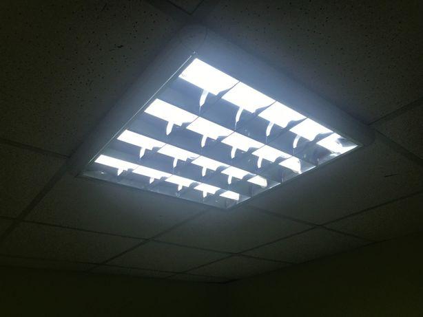 Продам растрові світильники(лампові)