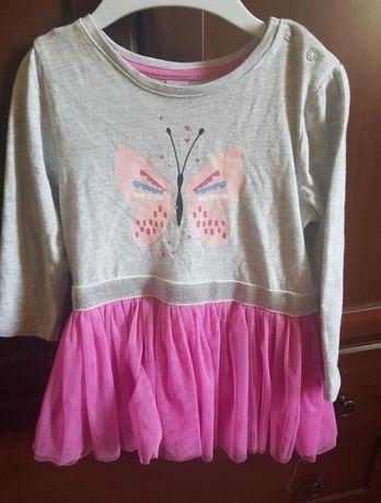 Платье для принцессы с бабочкой и юбкой из фатина Takko fashion Италия