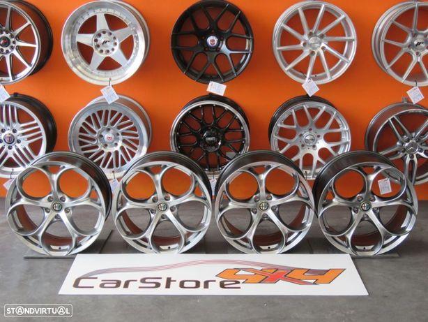 Jantes Alfa Romeo Giulia 19  8 et 33 + 9 et 34 5x110 Hyperblack