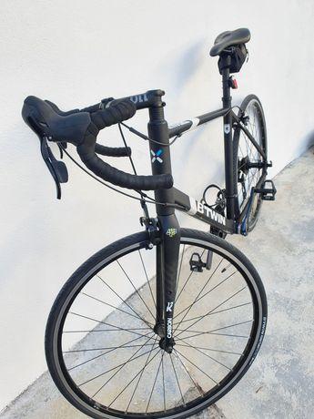 Bicicleta estrada btwin triban 500 L