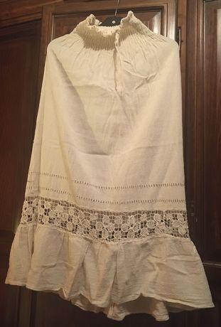 Vestido Caicai com bordado