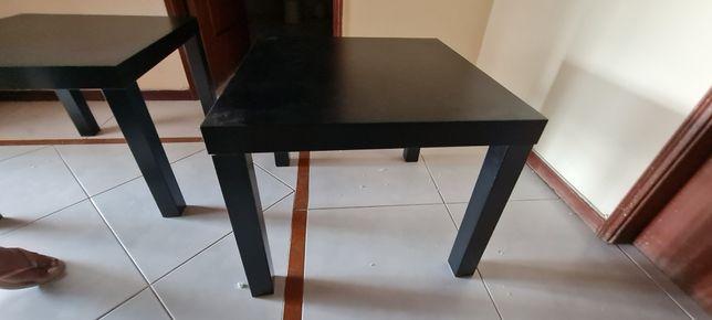 Mesa de apoio ikea preta