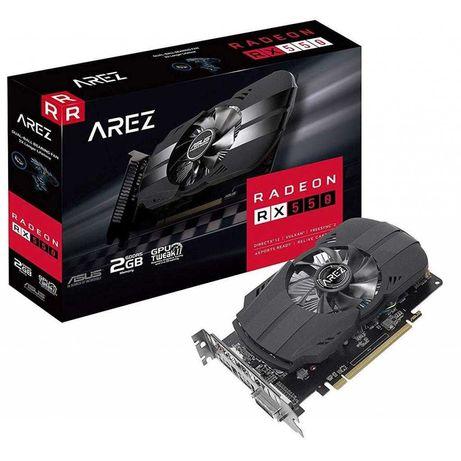 Відеокарта ATI Radeon RX 550 Asus, 2048 MB GDDR5, 128 bit, PCI Express