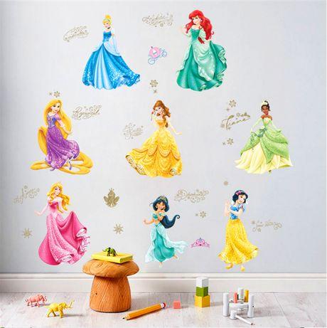 Интерьерные наклейки на стену в детскую