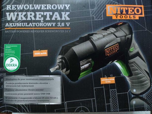 Rewolwerowy wkrętak akumulatorowy 3,6V