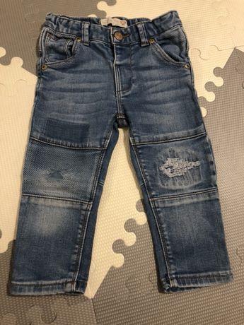 Zara baby spodnie jeansowe 86