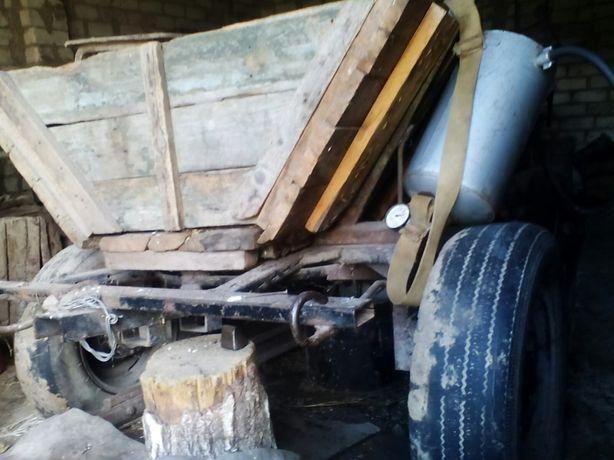 Віз кінний.можливість переробки під трактор