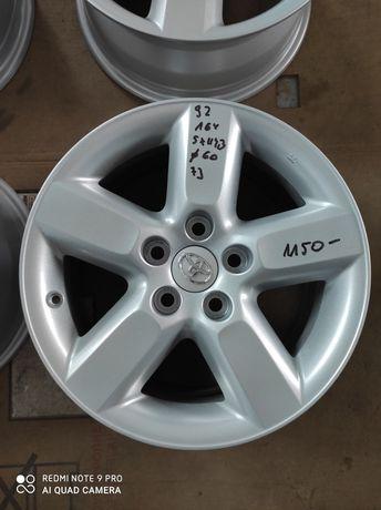 92 Felgi aluminiowe ORYGINAŁ TOYOTA R16 RAV 4 5x114.3