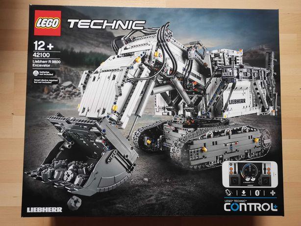 NOWE Lego 42100 Koparka Liebherr Zdalnie Sterowana 4100 klocków!