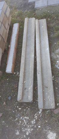 Nadproża betonowe 2szt150/1szt100