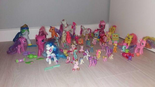 DUŻY zestaw koników Pony, Filly i inne + akcesoria