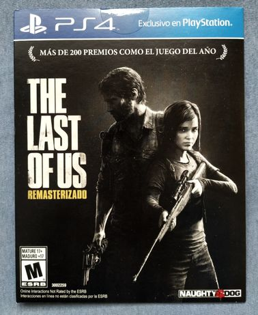 The Last of Us Remastered gra PS4 , gry na PS4