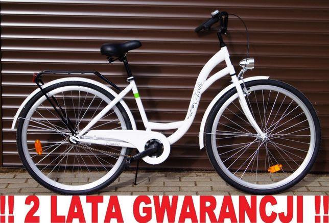 NOWY POLSKI STYLOWY Rower dla kobiety. Model 2020. + LICZNIK GRATIS !