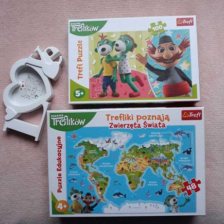 Na Prezent Zestaw Puzzle Trefliki Edukacyjne Jak Nowe Trefl