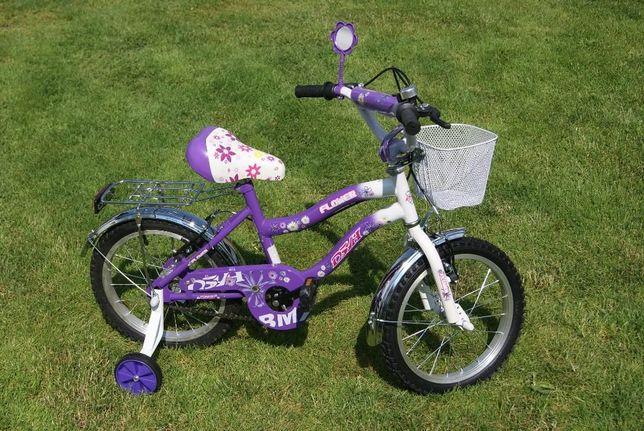 Rowerki Rower dziecięcy NOWY dla dziewczynki 16