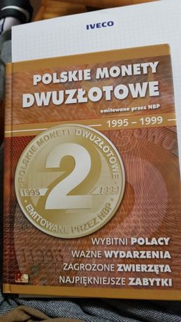 Polskie monety 2 złote 95-98