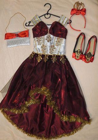 Новогодний костюм эппл вайт,красивая принцесска,нарядное платье