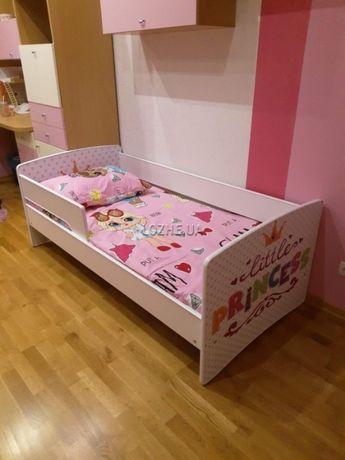 Детская кроватка с бортиком. Разные рисунки. Бесплатная доставка!!!
