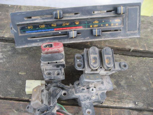 Блок управления печкой Mazda 626 GC, кнопки.