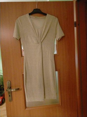 Sukienka  damska złota  firmy Versace rozmiar M.
