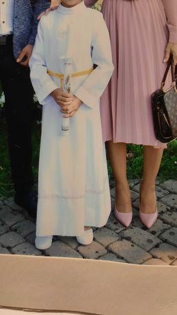 Alba 130cm + wianek+ buty r.31+ worek dla dziewczynki