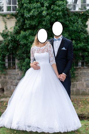 Suknia ślubna. Księżniczka 175 cm wzrostu