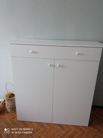 Komoda biała z szuflada