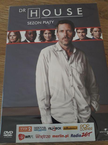 Dr House sezon piąty nowy dvd