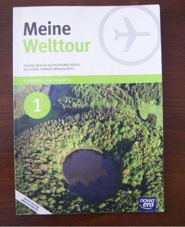 Meine Welttour. Język niemiecki 21 Podręcznik. Szkoła ponadgimnaz