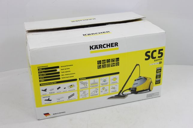 Parownica MOP parowy Karcher SC 5 EasyFix 4,2 bara 2200 W nowy