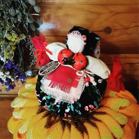 Сувенир подарок Кукла-оберег Кубышка Травница