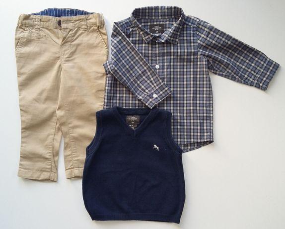 Komplet ubrań dla chłopca rozm. 74