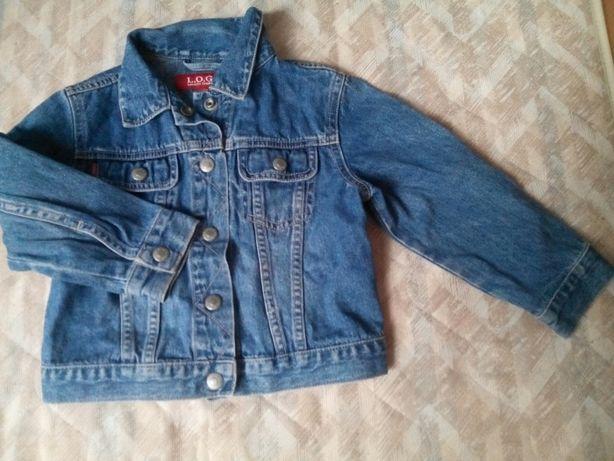 Kurteczka jeansowa 104