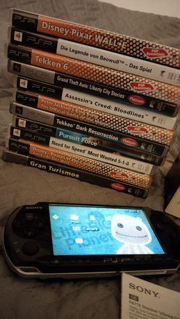 Sony PSP 3004 PB slim & lite piano black używane