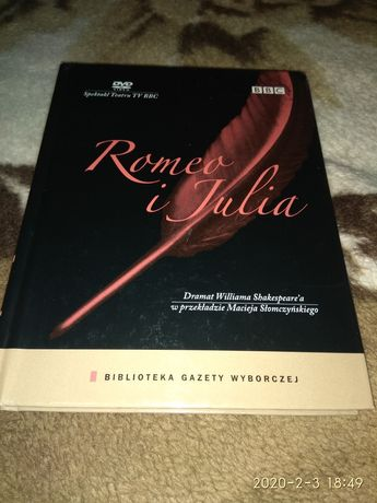 Romeo i Julia książka plus DVD