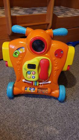 Pchacz jeździk prezent dla malucha gra świeci interaktywny