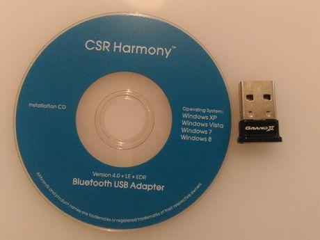 Адаптер Bluetooth PC GRAND USB Adapter Version 4.0 + LE+EDR CSR Harmo