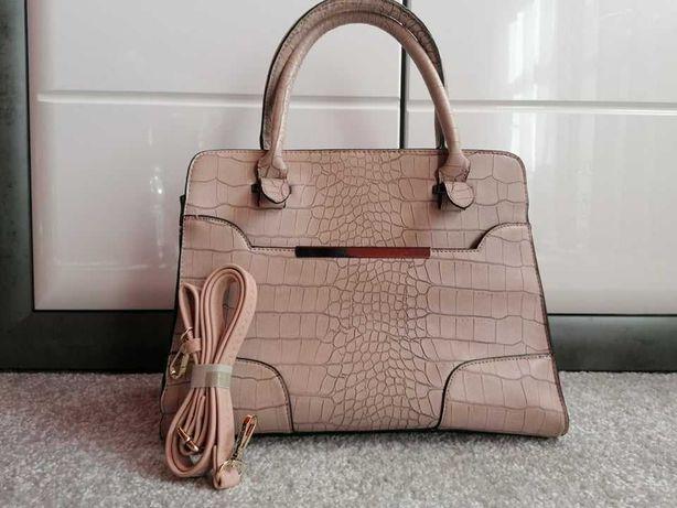 torebka damska kuferek stylowa