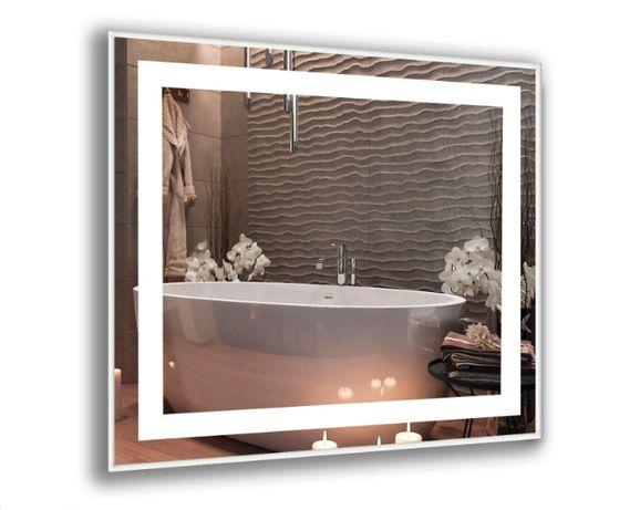 Влагостойкое зеркало с LED (светодиодной ЛЭД) подсветкой. Лучшая цена!