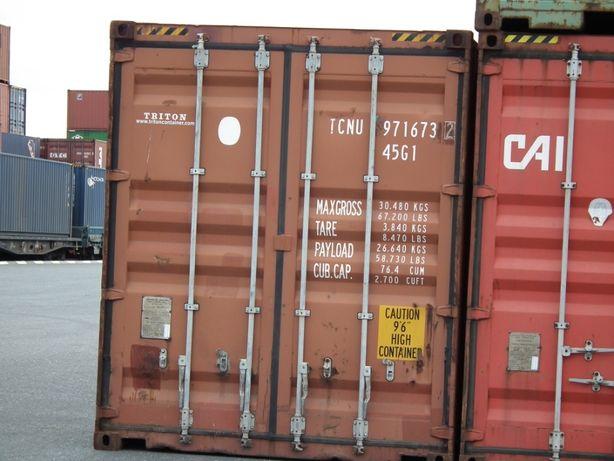 Używany kontener morski/magazynowy 40'HC - Sierpc FZ