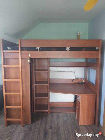 Łóżko piętrowe z biurkiem antresola Magellan VOX