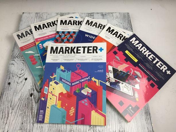 Czasopisma MARKETER+ 7 sztuk Przewodnik Po Marketingu