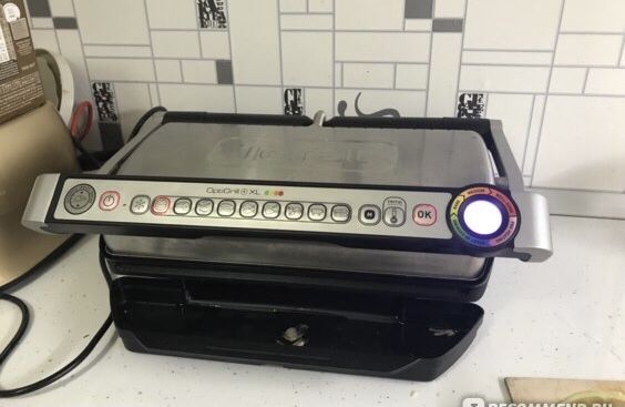Гриль TEFAL OptiGrill GC722 Как тостер , сендвичница