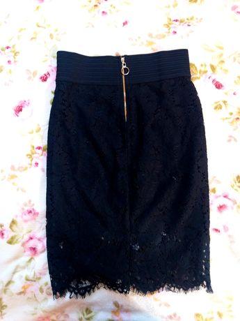Гипюровая юбка-карандаш