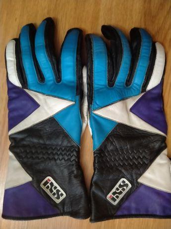 вело перчатки все кожа в идеальном сост. высокие на липучка