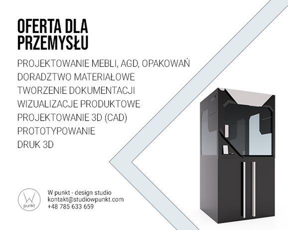 Projektowanie produktowe | wzornictwo | modelowanie 3D CAD | dotacje